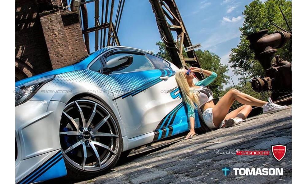 Kia pro_cee'd GT Aufkleber Set 2 Vektordatei für Folierbetriebe