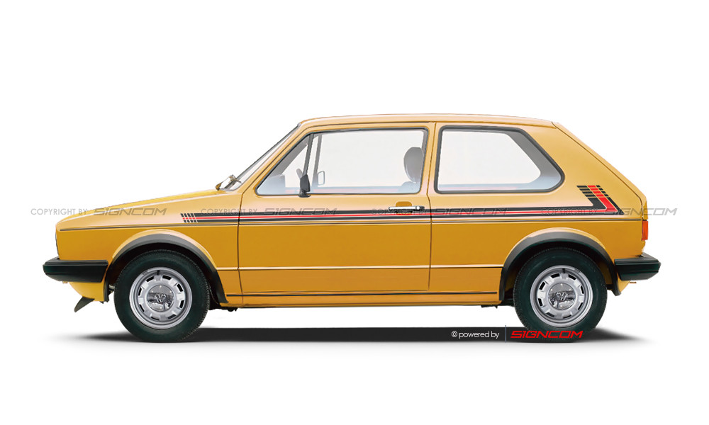 Seitendekore Oldtimer / Classic Car 02