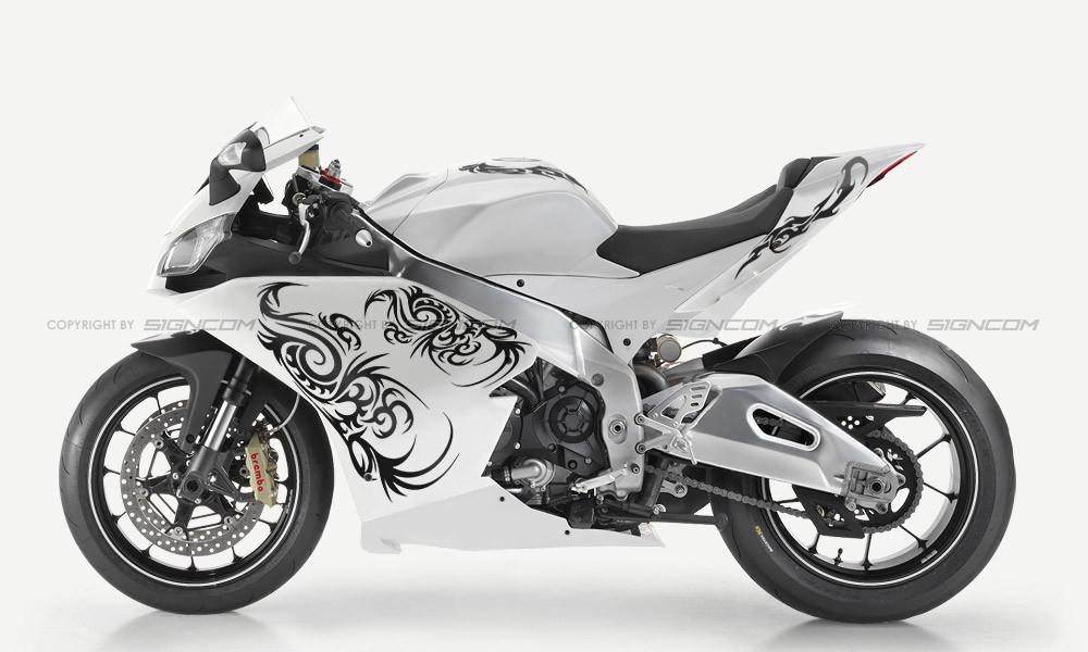 Moto Theme 1 Aufkleber Motorradaufkleber Bikeaufkleber Sticker